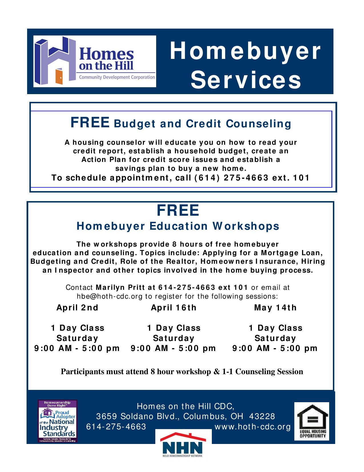 2015 Homebuyers Workshop Learn the Process