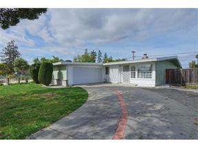 Sunnyvale CA Single Family Home Sold: $985,000
