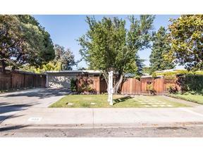 Palo Alto CA Single Family Home Sold: $2,198,000