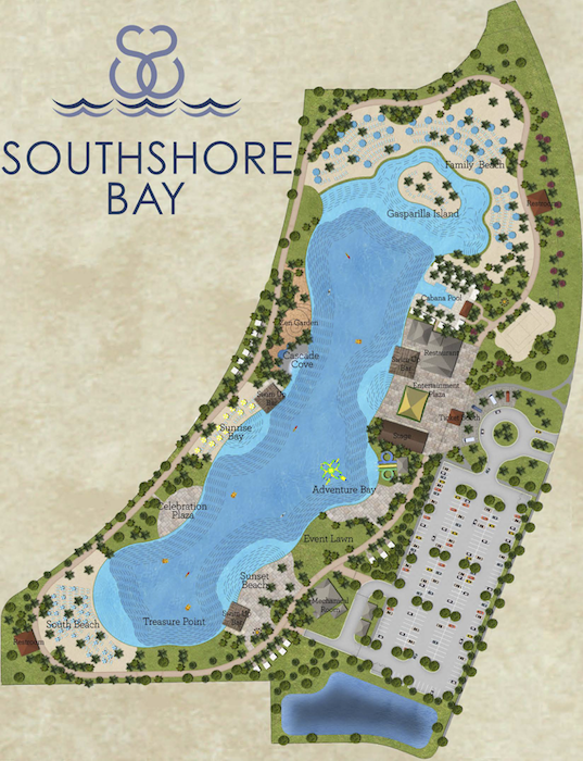 Southshore Bay Site Map | Suncoast Home Finders