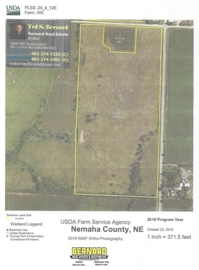 Lots and Land Sold: Section  24-4-12 E1/2NE1/4 ex Hwy