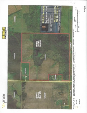 Tecumseh NE Lots and Land For Sale: $410,205