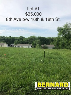 Lots and Land For Sale: Lot 3  8th Ave