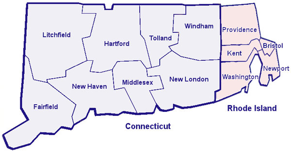 Recreation Info CT and Rhode Island