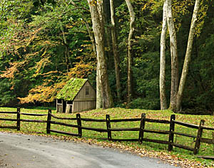 Cutalossa Road in Solebury Township, PA