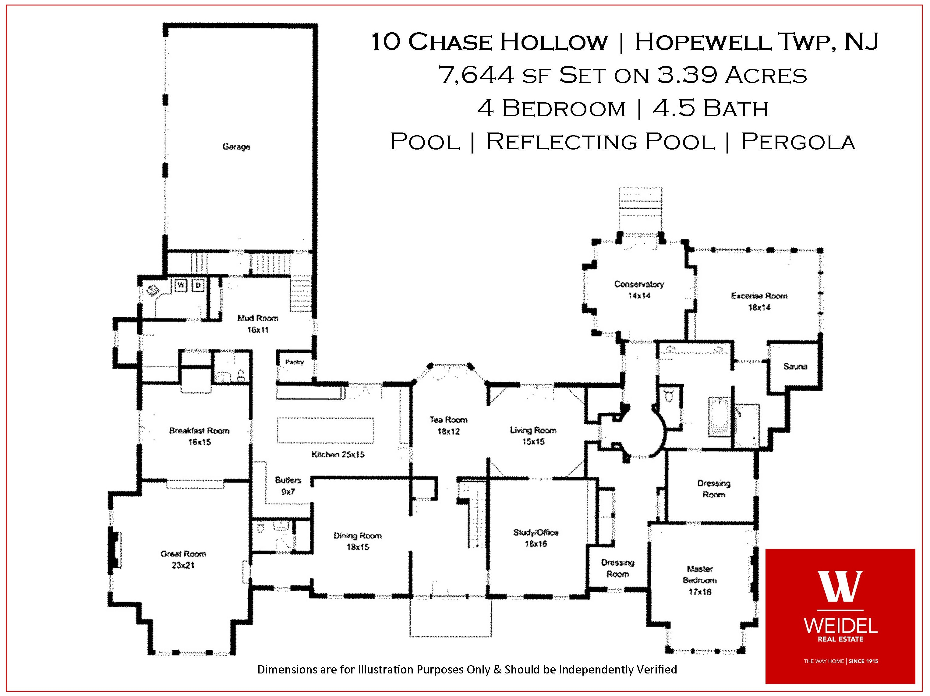 10 Chase Hollow Floor Plan Main Level