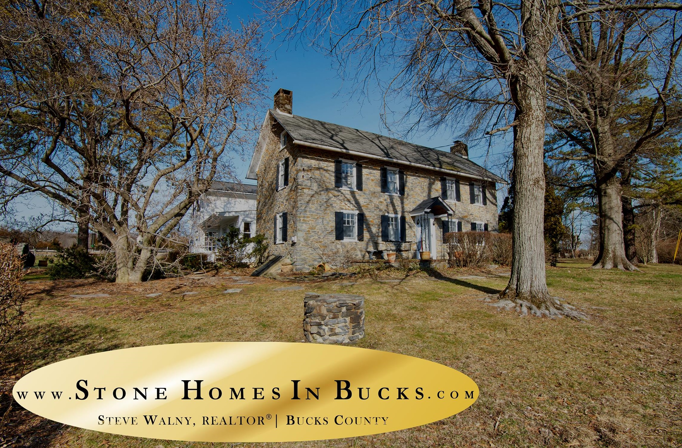 Stone Homes In Bucks | Penn-Walton Homestead Bucks County | Bucks County Farm House for Sale | Upper Bucks Countryside | Weidel Real Estate | Weidel Realtors | Doyelstown Realtors | New Hope Realtors | Steve Walny Weidel