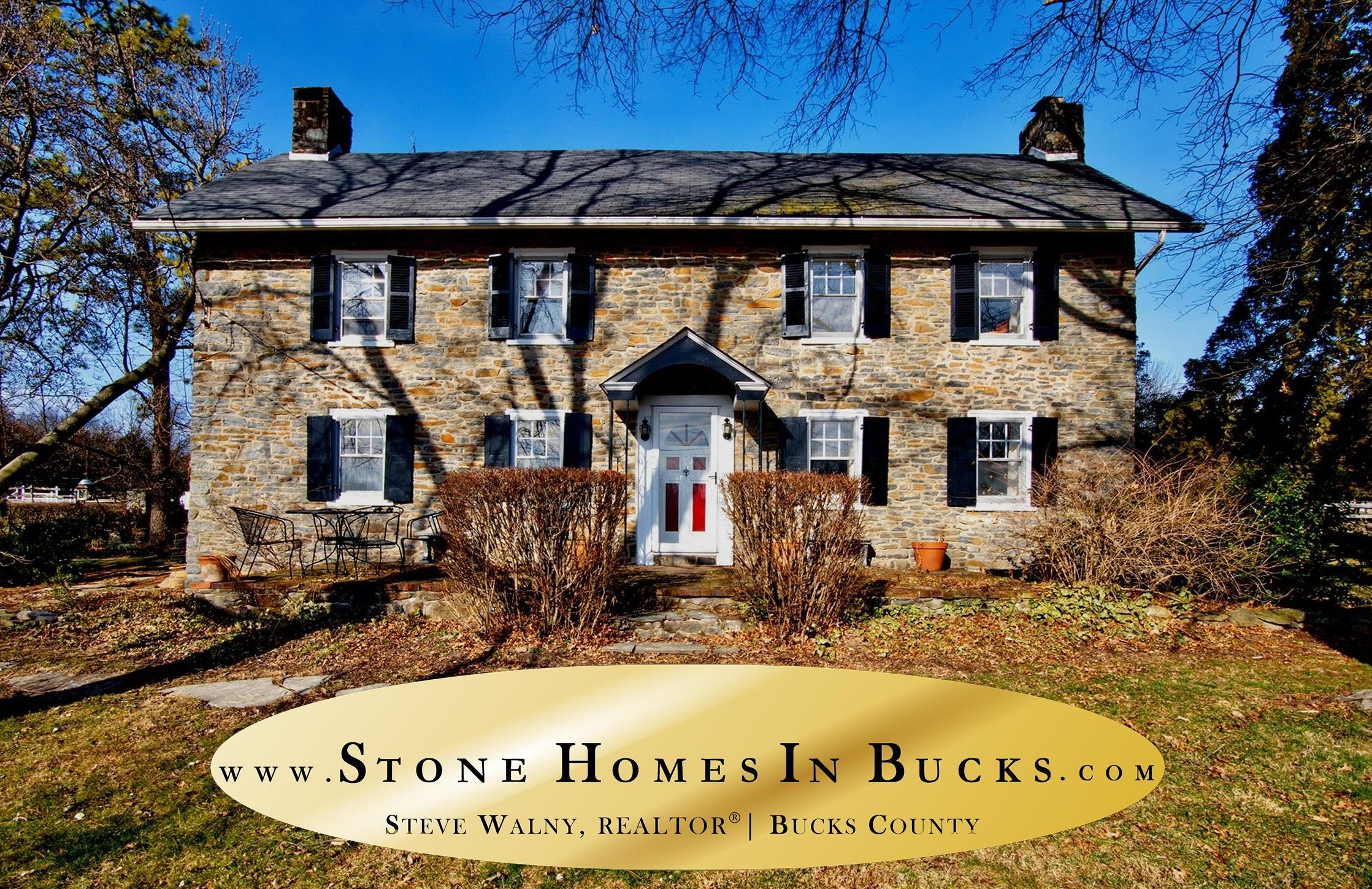 Penn-Walton Homestead | Stone Homes In Bucks | Doylestown Realtor | WEIDEL | Weidel Real Estate | Doylestown Realtors | Weidel Realtors