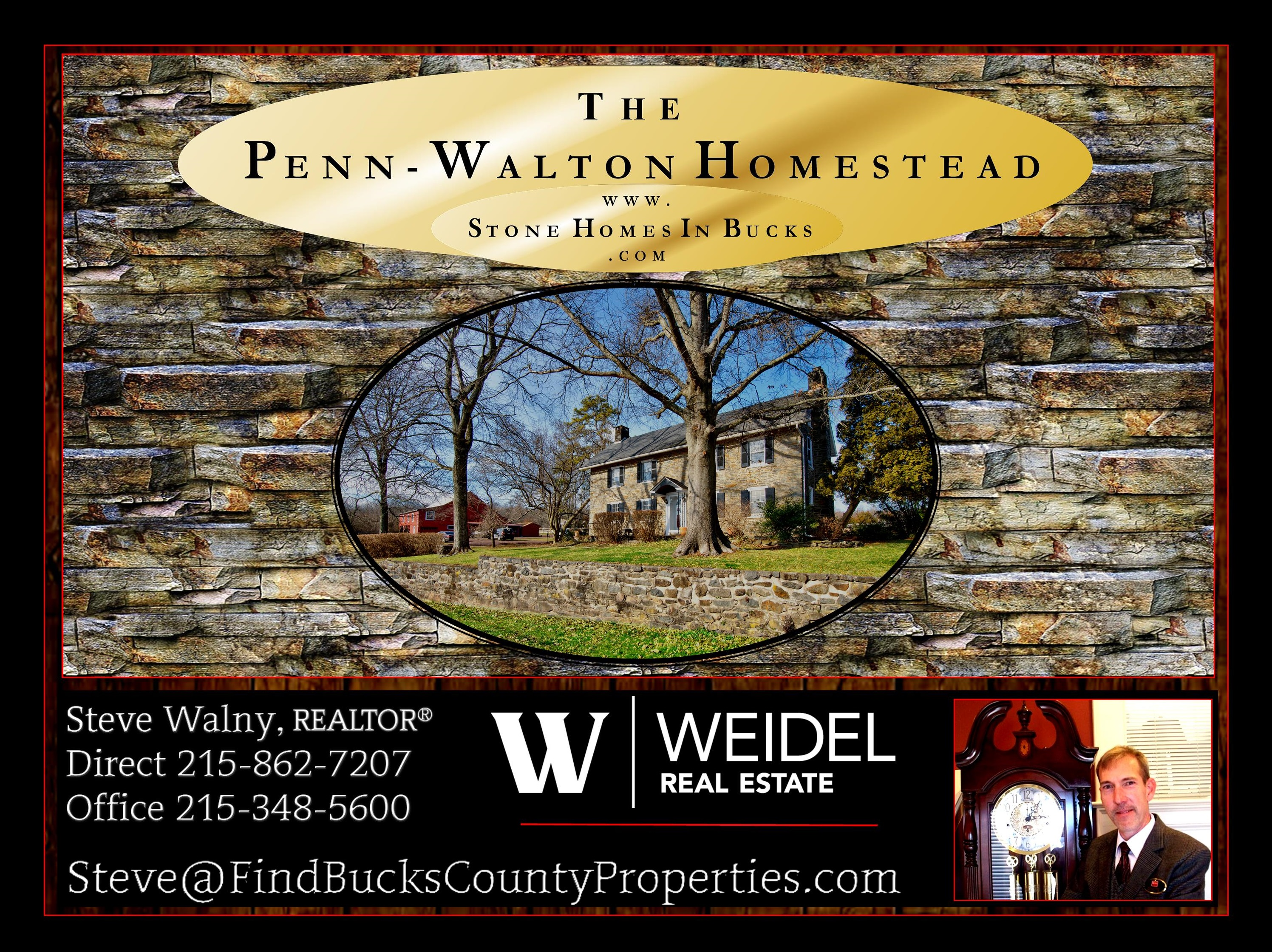 Stone Farm House Bucks County Video | Homes of Upper Bucks | Doylestown Realtor | WEIDEL Real Estate | WEIDEL Realtors | Steve Walny