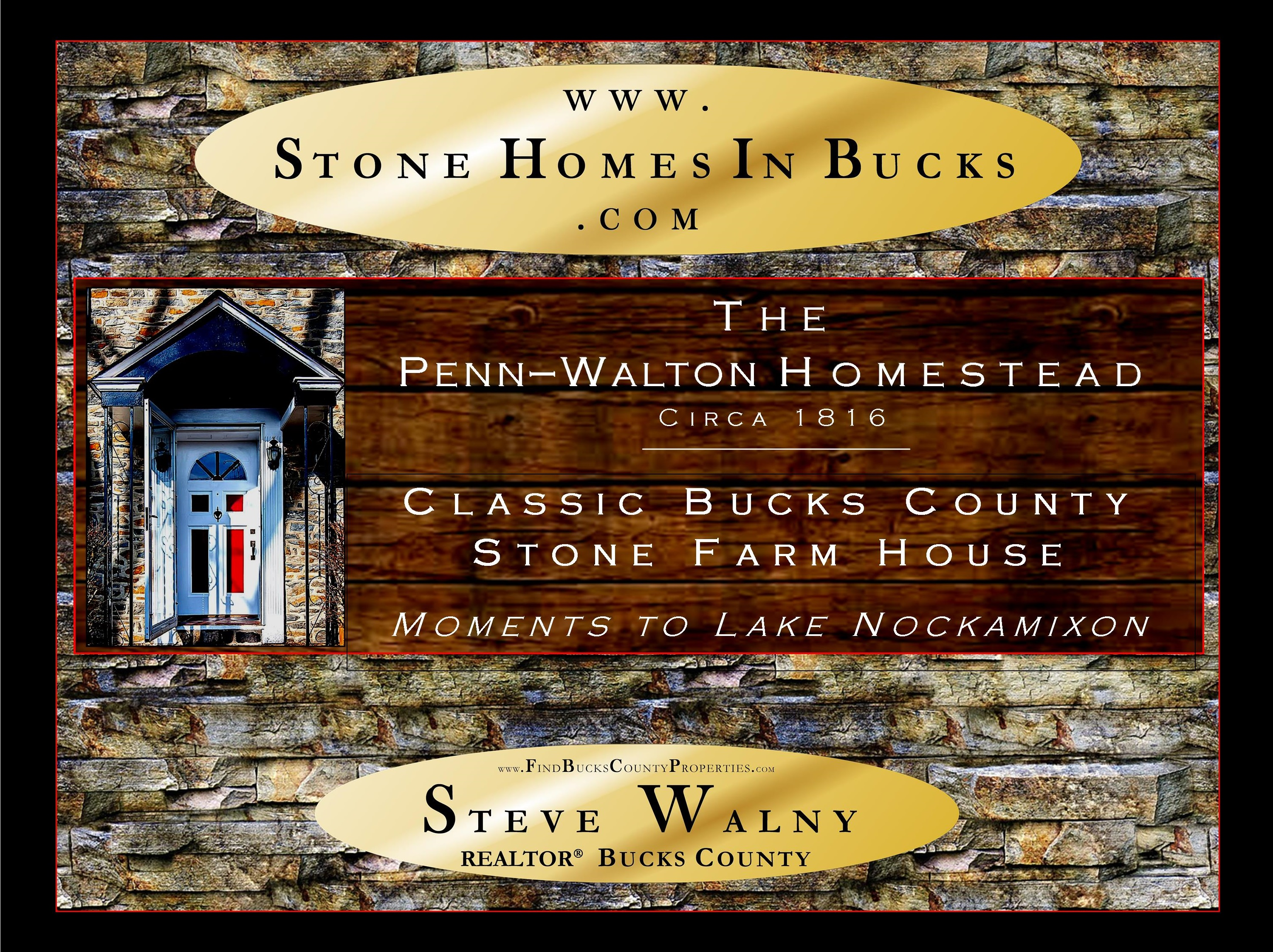 Stone Homes In Bucks | Bucks County Drone Video | WEIDEL Real Estate | Weidel Realtors | Doylestown Realtor | Steve Walny