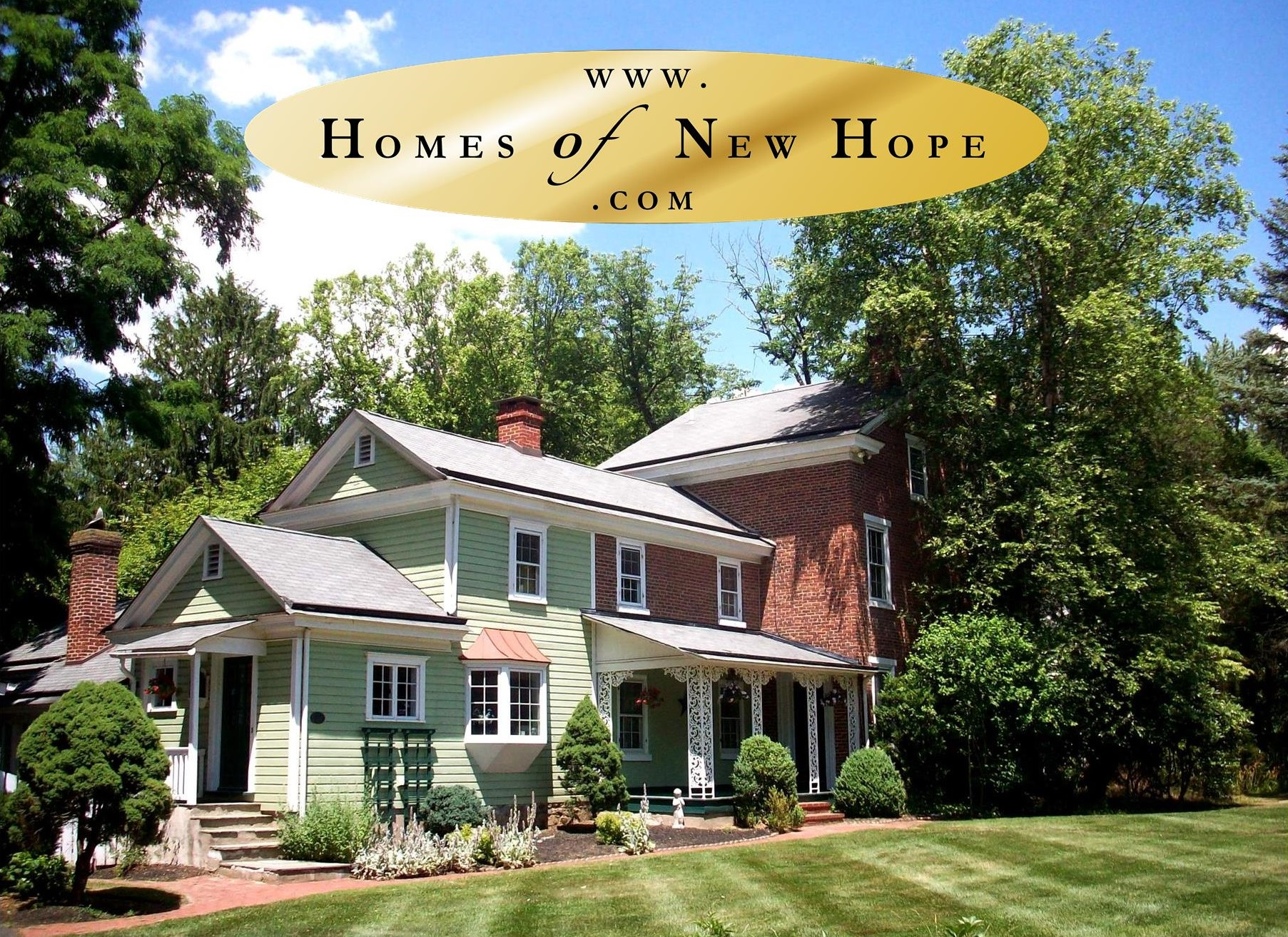 Homes of New Hope | www.HomesOfNewHope.com | Peter Naylor House | Weidel Real Estate | #WeidelRealEstate | #NewHopeRealtors