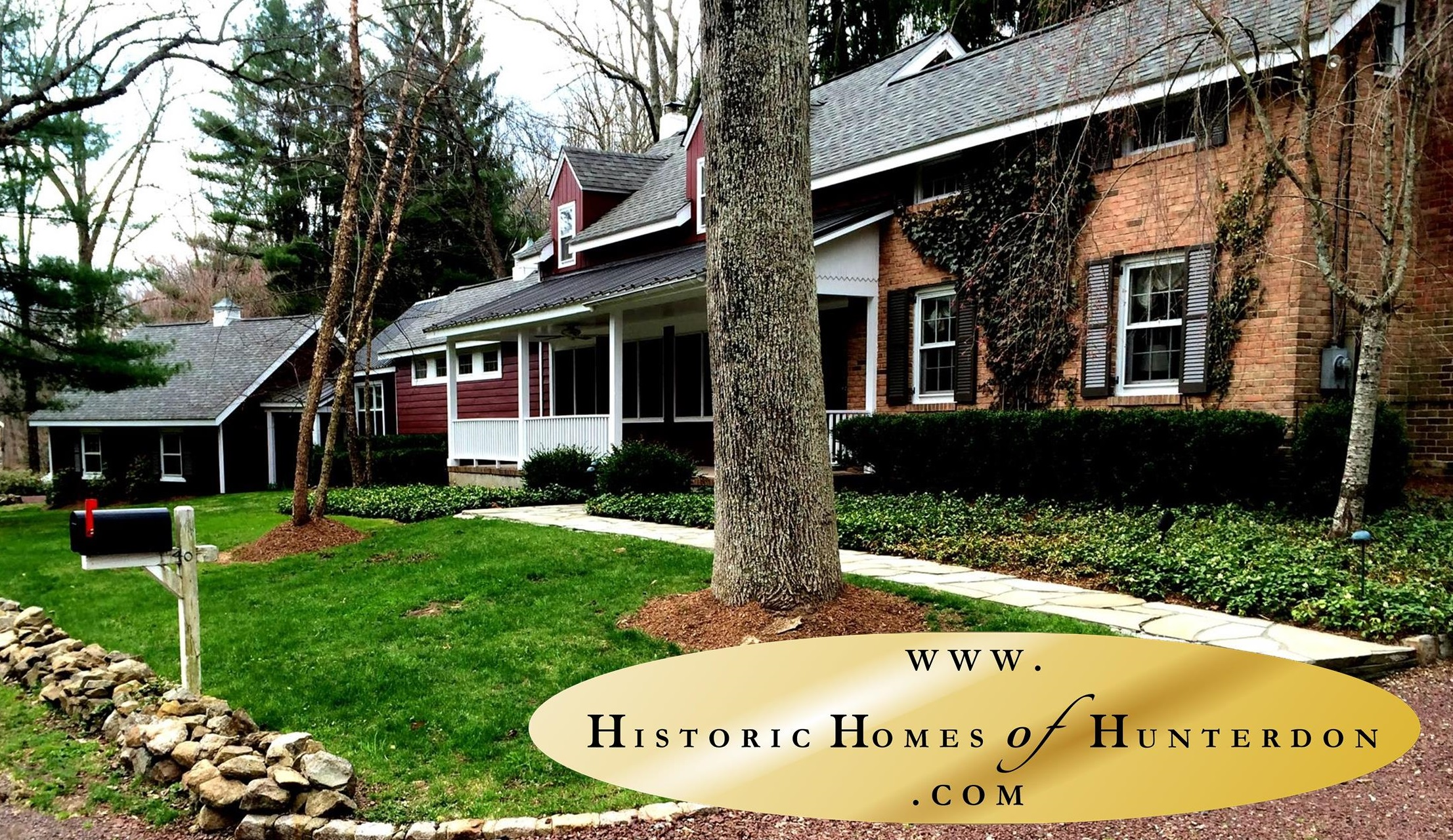 Historic Homes Of Hunterdon | Hunterdon County NJ Historic Home for Sale | Tewksbury Twp Homes for Sale | Charming Country Home for Sale NJ