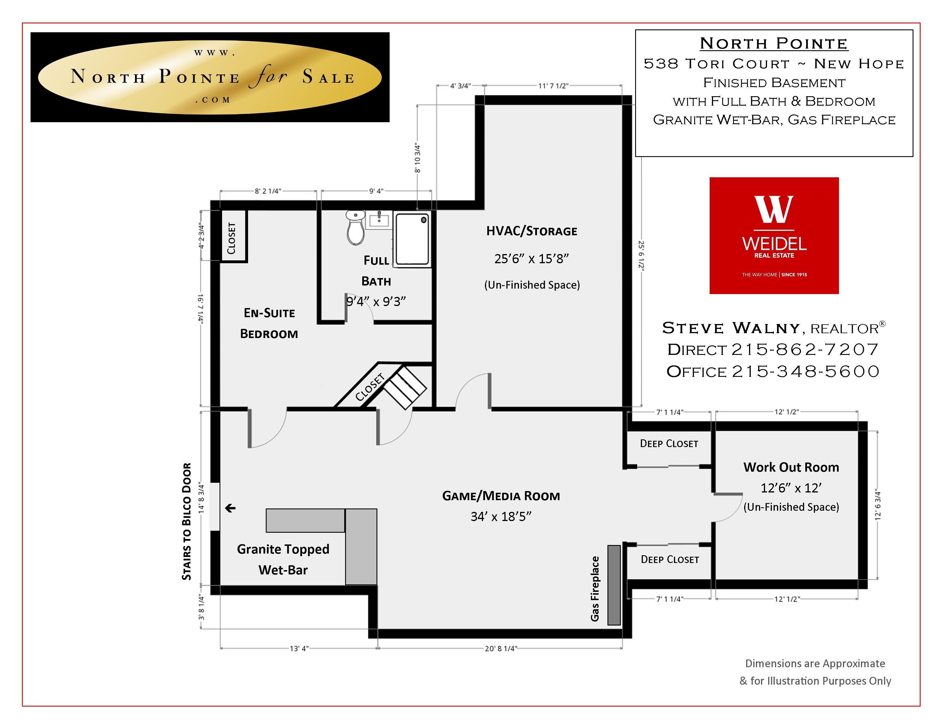 538 Tori Ct New Hope PA Floor Plan 3
