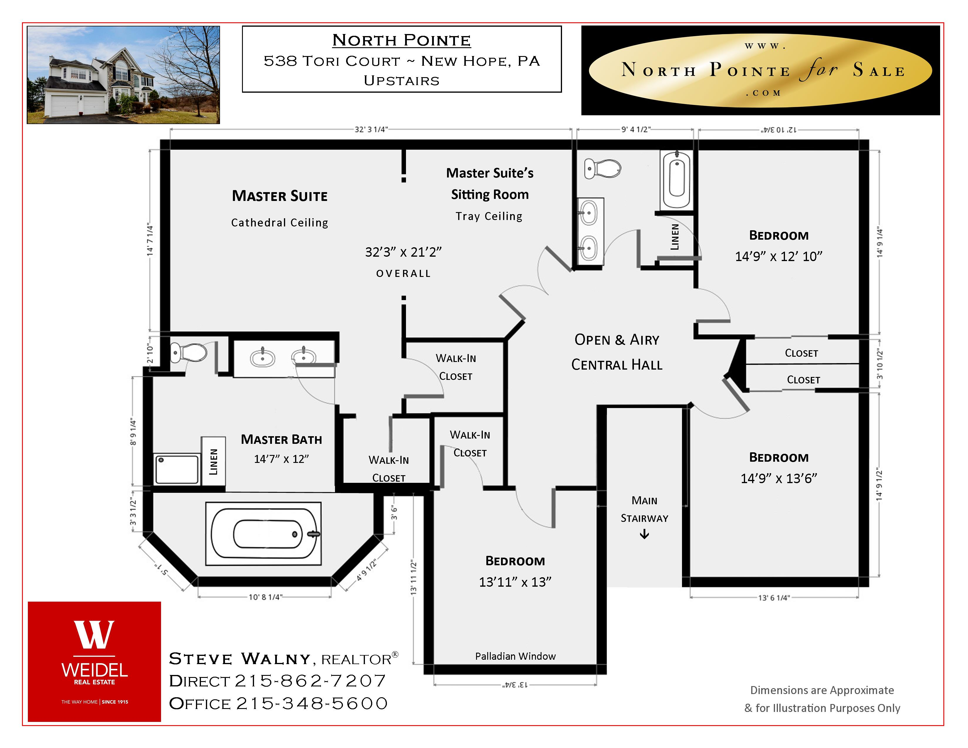 538 Tori Ct New Hope PA Floor Plan 2