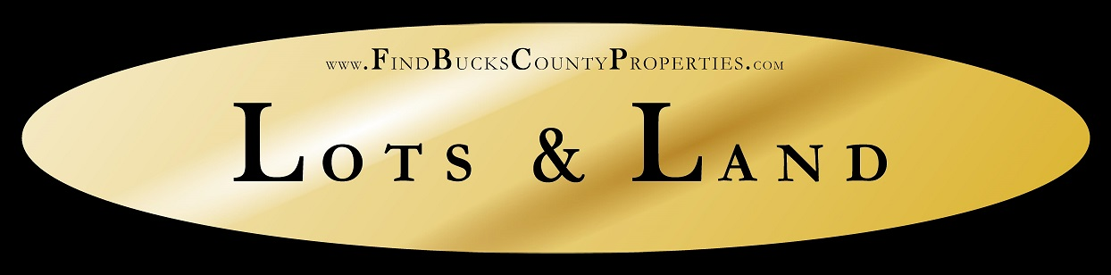 Building Lots and Land for Sale in Bucks County PA at www/FindBucksCountyProperties.com/Lots&Land