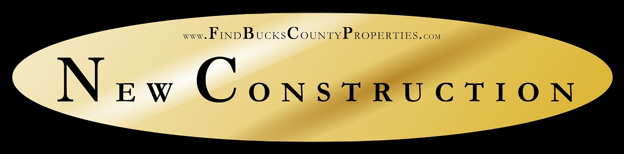 New Construction Homes in Bucks County PA for Sale at www.FindBucksCountyProperties.com/NewConstruction