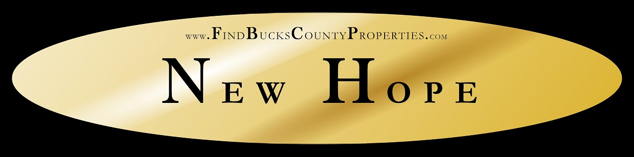 New Hope PA Homes for Sale at www.FindBucksCountyProperties.com/NewHope Steve Walny New Hope PA REALTOR® Weidel, Real Estate New Hope PA | #NewHopePA, #LgbtRealEstate, #LgbtRealtor