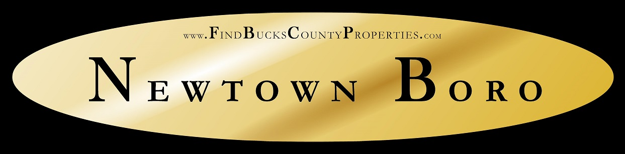 Newtown Boro PA Homes for Sale at www.FindBucksCountyProperties.com/NewtownBoro Steve Walny Newtown REALTOR® Weidel