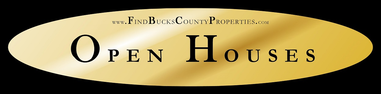 Bucks County Open Houses for Sale, #BucksCountyProperty, #BucksCountyRealEstate, #NewHopeRealEstate