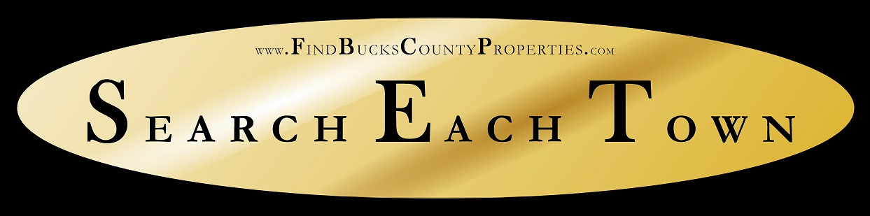 Search Each Town in Bucks County PA for Homes for Sale at www.FindBucksCountyProperties.com