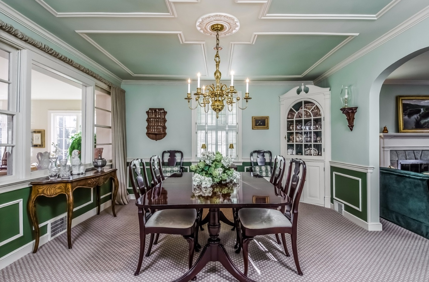 Classic Dining Room in New Hope PA Steve Walny REALTOR®