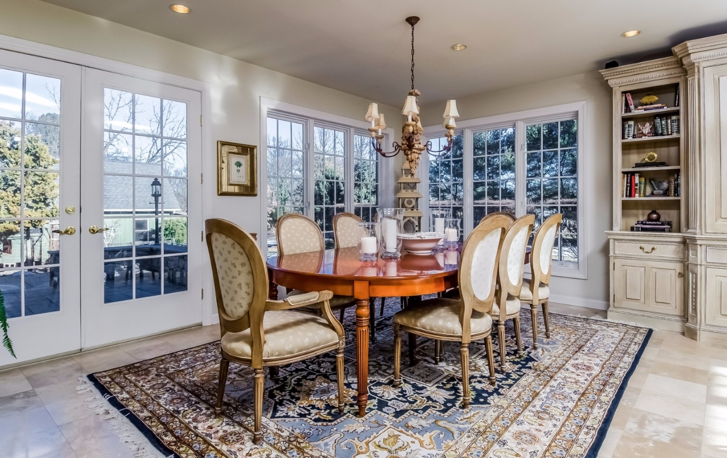 Ideal Bucks County Dinner Party Setting Steve Walny REALTOR®