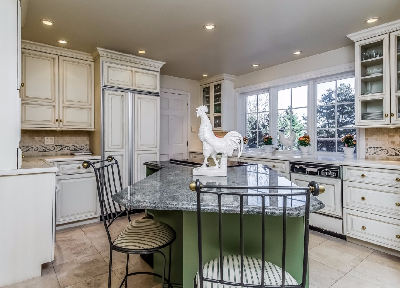 Elegant Country Kitchen New Hope PA Steve Walny REALTOR®