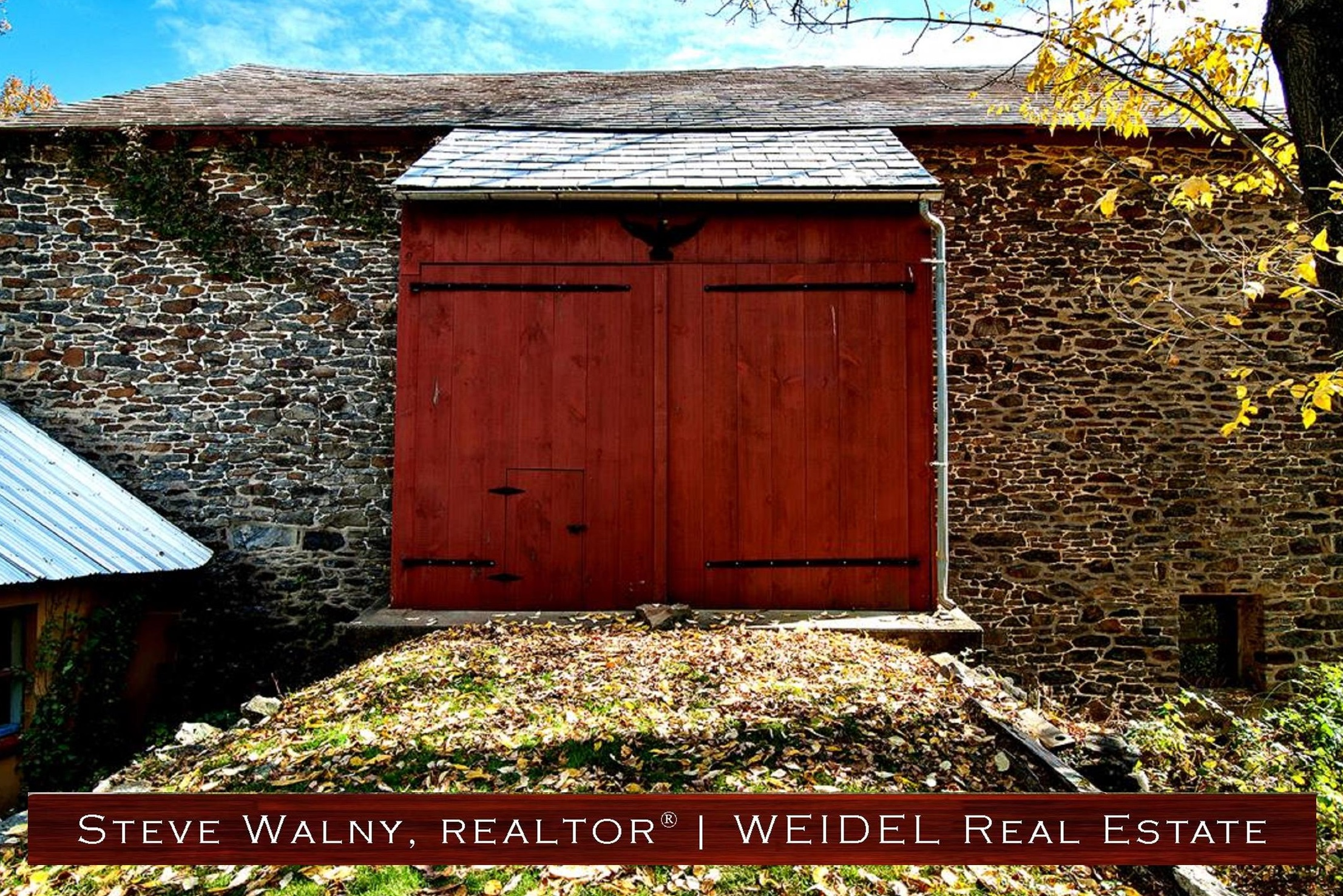 Bucks County Bank Barn | Stone Barn Bucks County | Doylestown Realtor | Doylestown Realtors | New Hope Realtor | New Hope Realtors | Weidel Real Estate