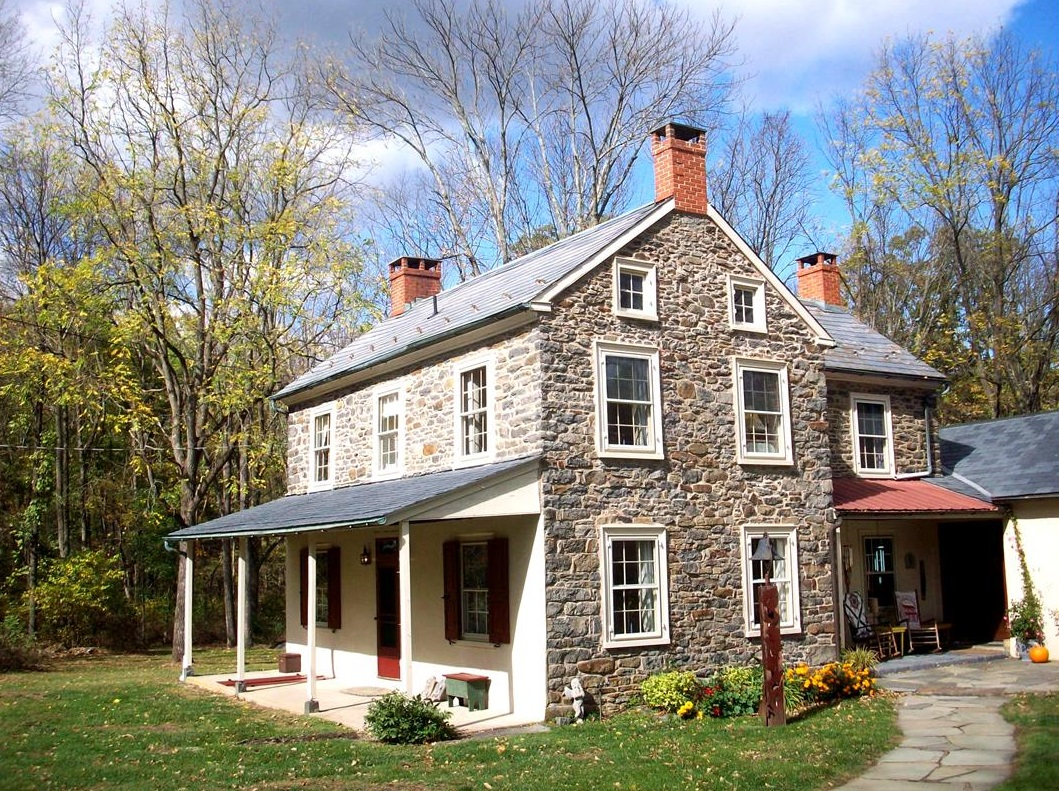 Stone Farmhouse for Sale in Bucks County | #BucksCountyStoneFarmhouse | Bucks County Farmhouse | #BucksCountyFarmHouse