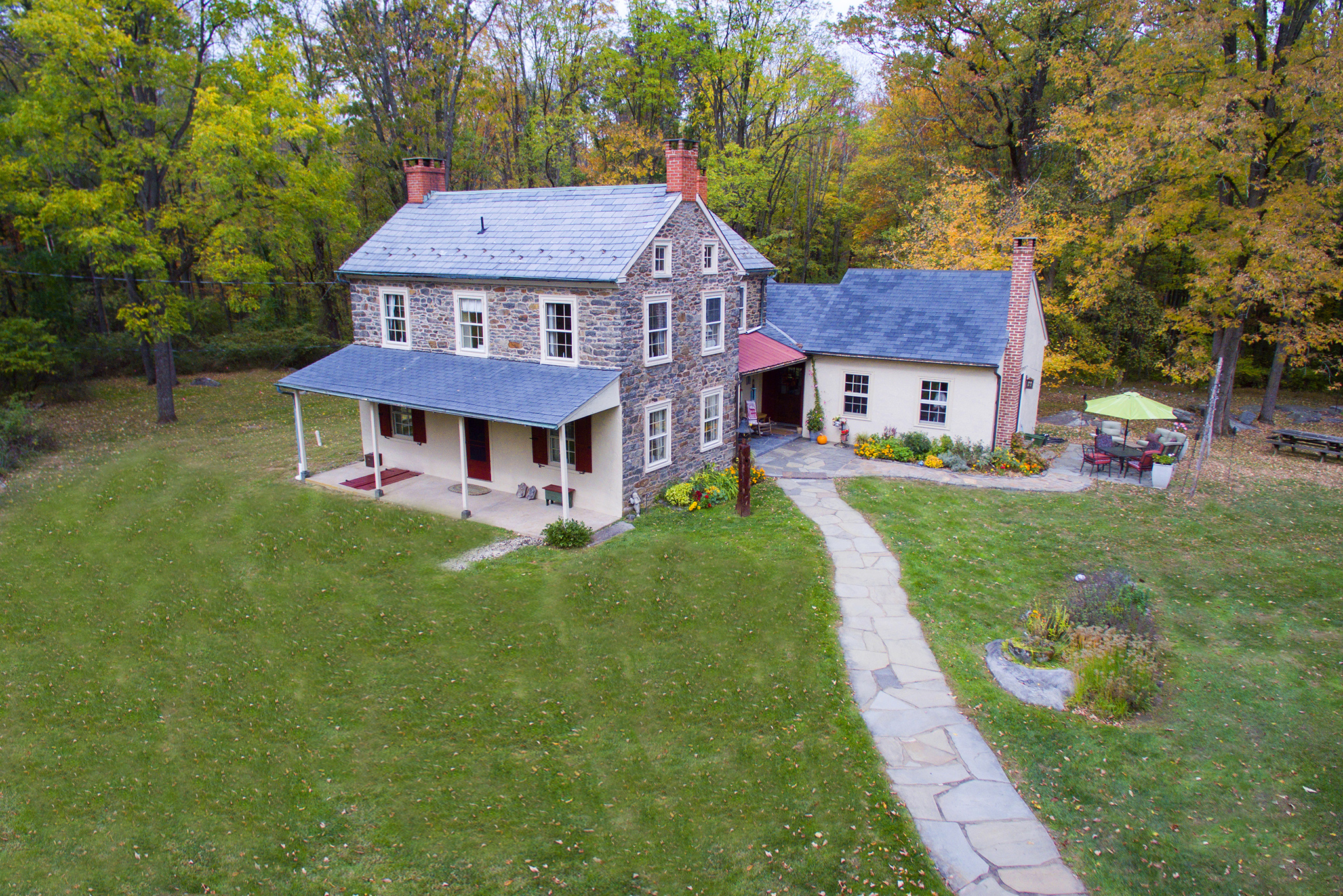 Stone Homes In Bucks | #StoneHomesInBucks | Bucks County Stone Farmhouse | #BucksCountyStoneFarmhouse