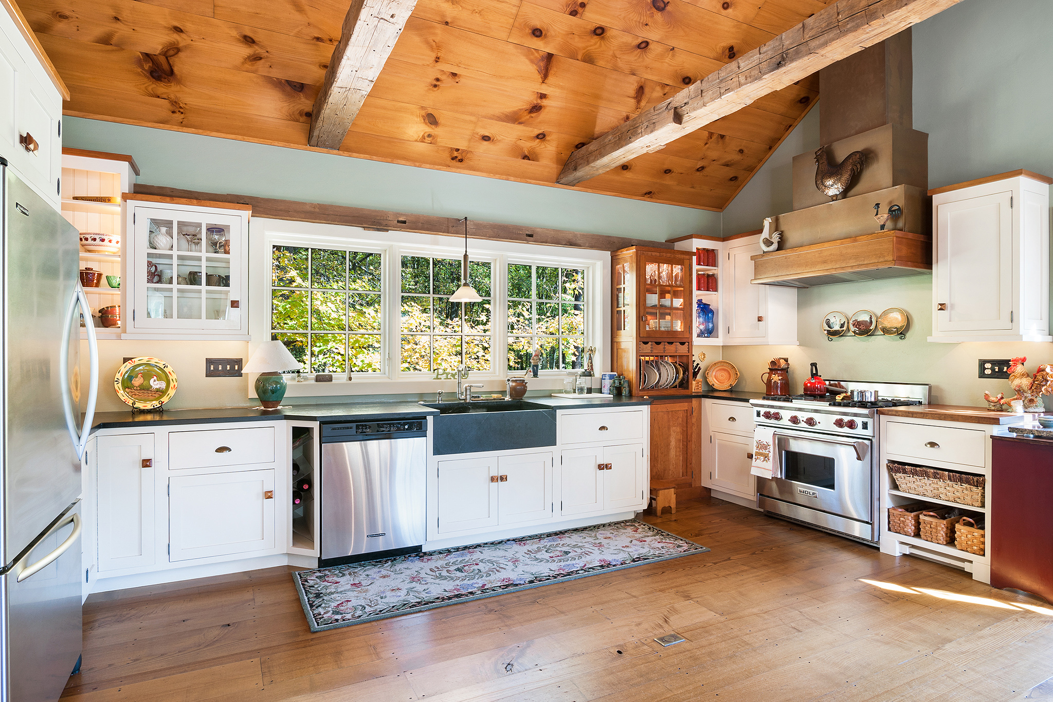 Bucks County Country Kitchen | #BucksCountyCountryKitchen | Bucks County Farmhouse Kitchen | #BucksCountyFarmhouseKitchen