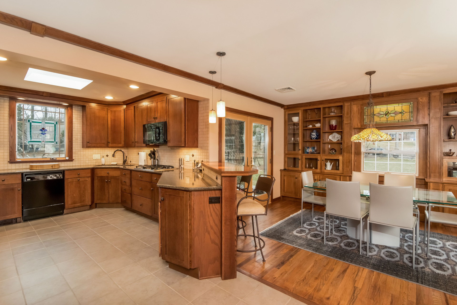 Heart of the Home | New Hope PA Craftsman Style Kitchen | Solebury Craftsman