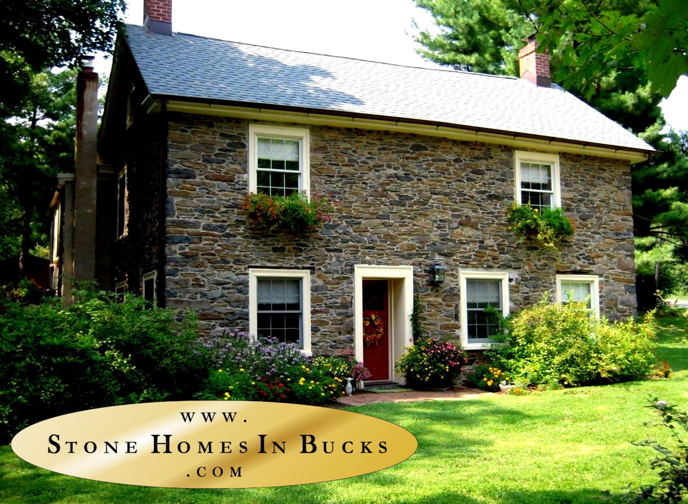 Stone Homes In Bucks | Honeysuckle Cottage | Doylestown Realtor | Doylestown Realtors