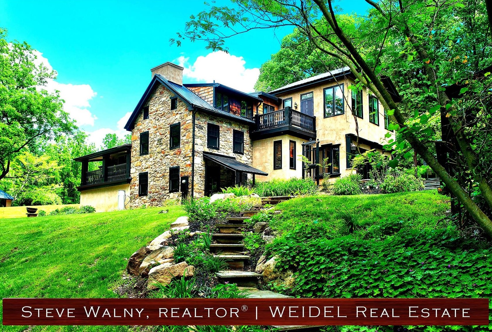 Stone Homes In Bucks County For New Hope Realtor Steve Walny