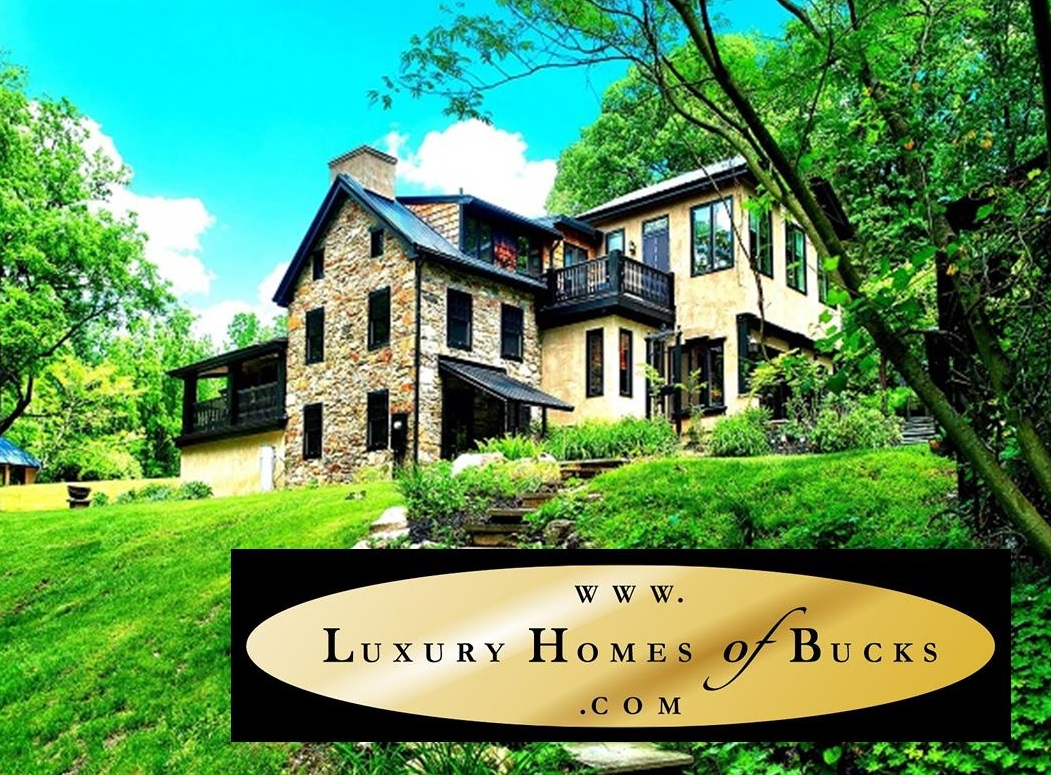 Stone Homes in Bucks County | #StoneHomesBucksCounty | Bucks County Stone Homes | #BucksCountyStoneHomes