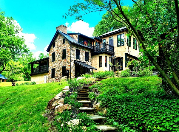 Bucks County Stone House | #BucksCountyStoneHouse |  #NewHopePA | New Hope PA | Stone Home for Sale in Bucks County | Thornwood Bucks County | #ThornwoodBucksCounty