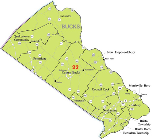 Bucks County School Districts