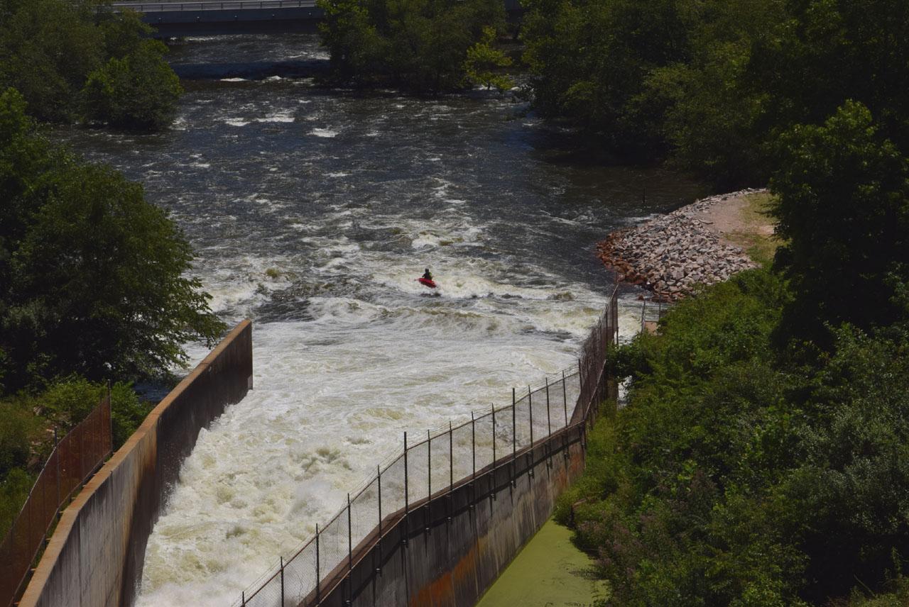 Falls Lake Dam Tailrace