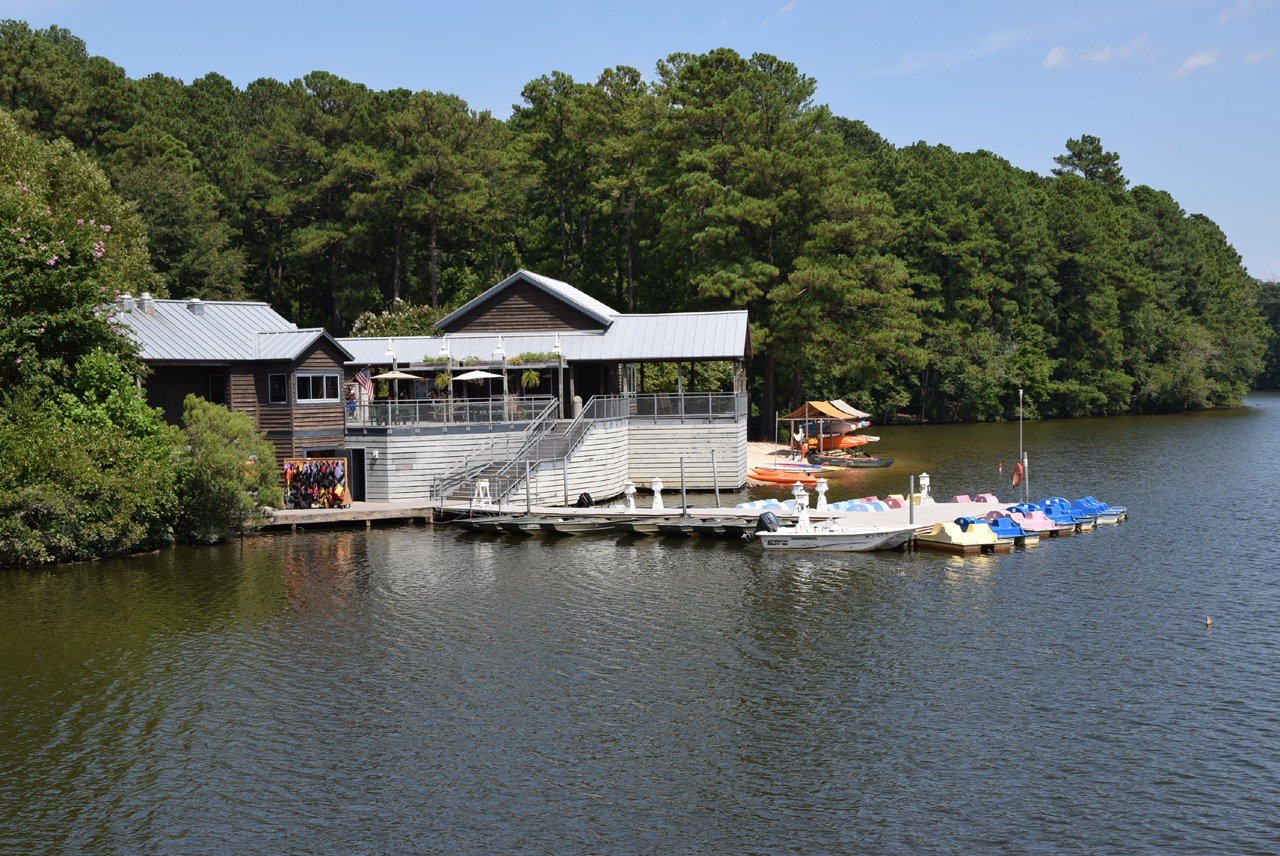 Lake Johnson Boathouse, Raleigh
