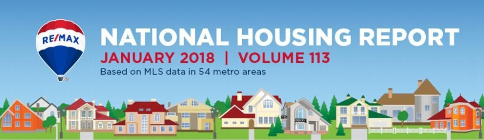 National Housing Report From RE/MAX: January 2018