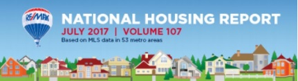 RE/MAX National Housing Report July 2017