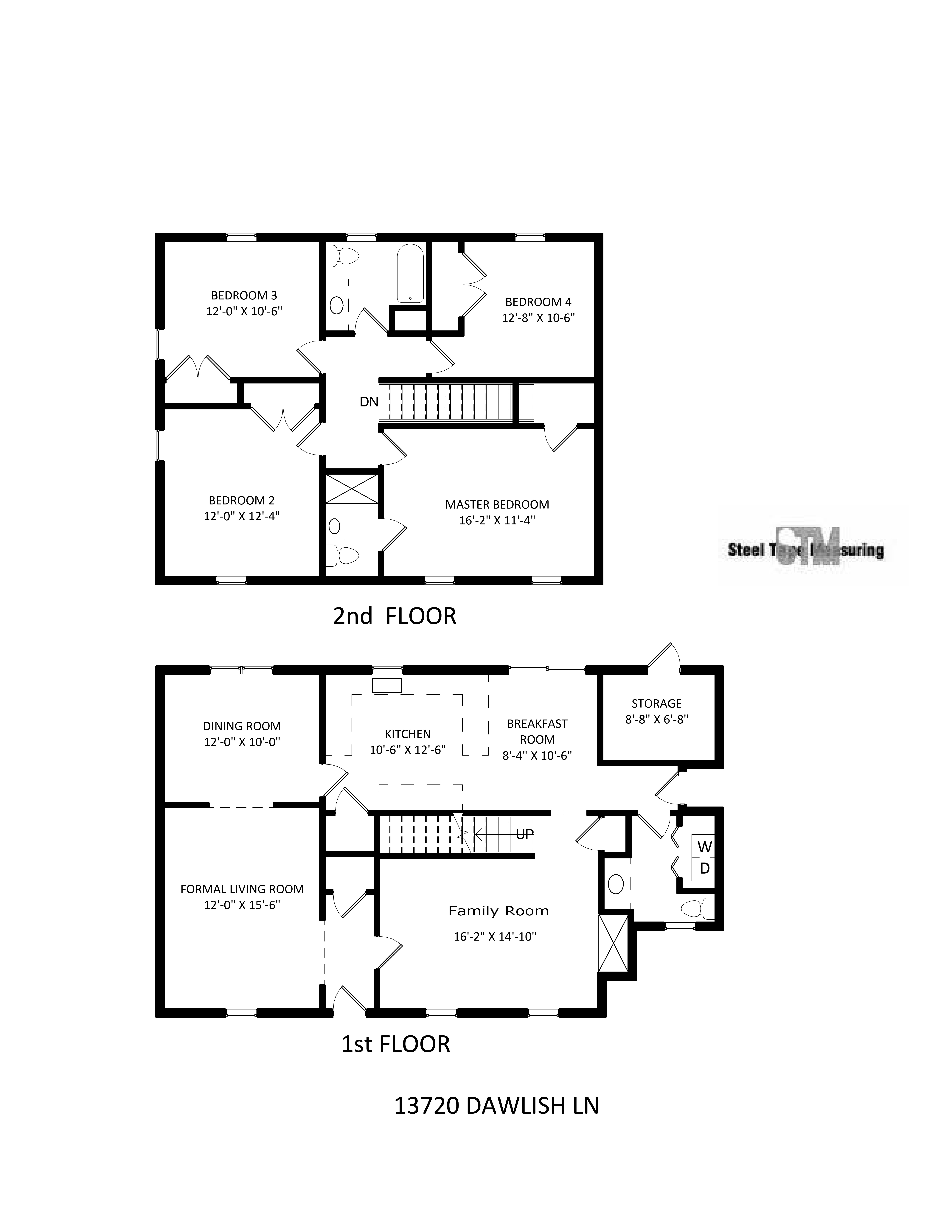 Floor Plan for 13720 Dawlish Lane in Danby in Pineville, NC