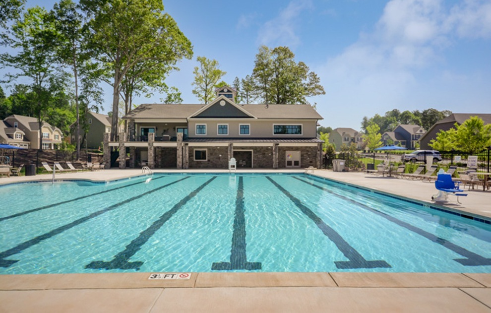 Retreat at Rayfield Community Pool in Indian Land, SC