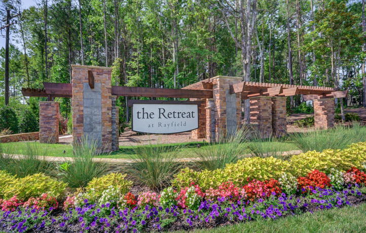 Retreat at Rayfield Entrance in Indian Land, SC