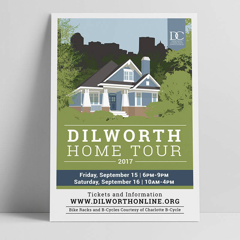 Dilworth Annual Home Tour in Charlotte, NC