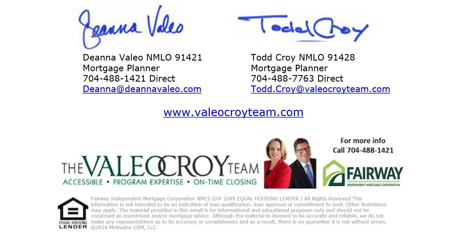 Valeo Croy Team with Fairway Mortgage Support The Charlotte Loves Houston Supply Drive