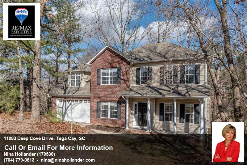 11083 Deep Cove Drive In Tega Cay Sold By Nina Hollander