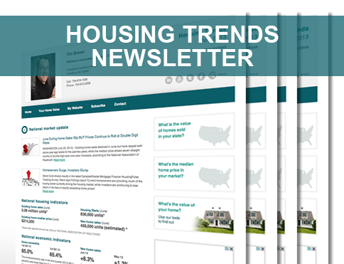Housing Trends Newsletter From Nina Hollander/Carolinas Realty Partner