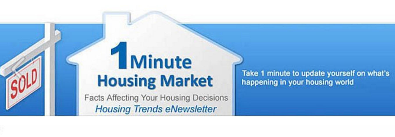 Housing Trends eNewsletter from Nina Hollander, RE/MAX Executive in Charlotte