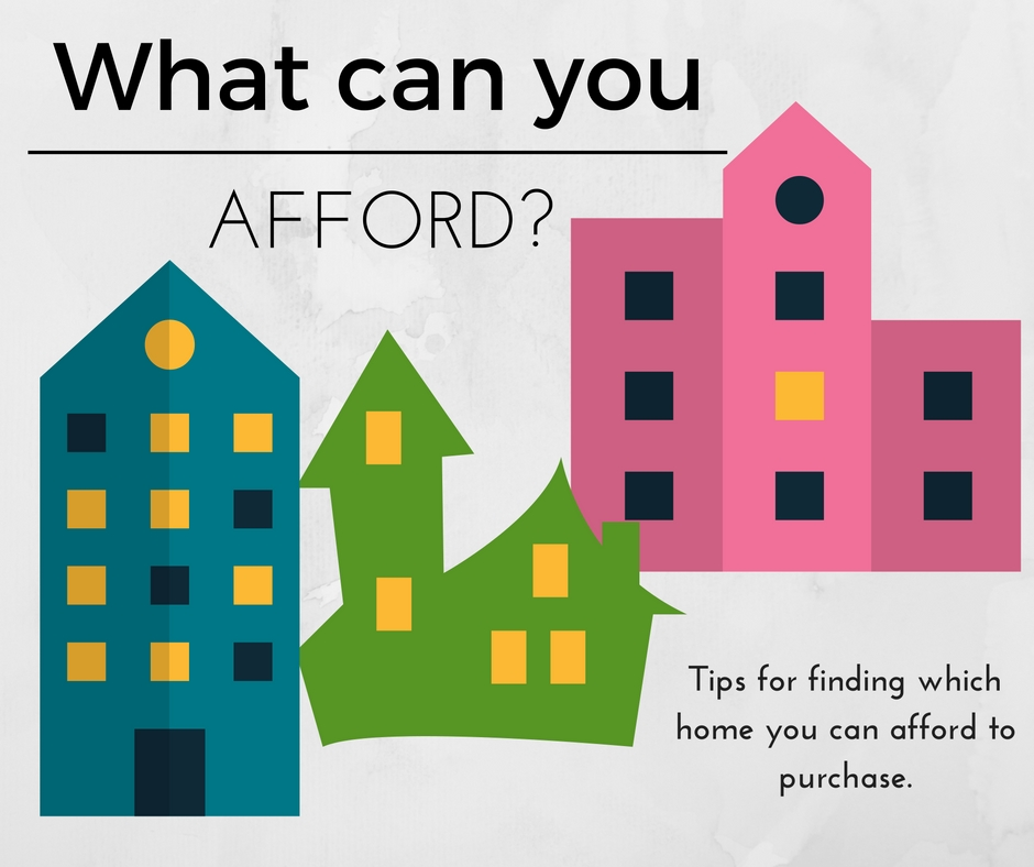 What can you afford? Tips for finding your purchase point.